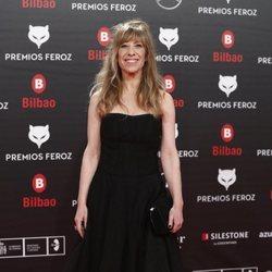 Nathalie Seseña en los Premios Feroz 2019