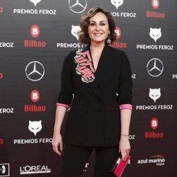 Ana Milán en los Premios Feroz 2019
