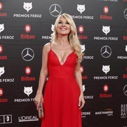 Cayetana Guillén Cuervo en los Premios Feroz 2019