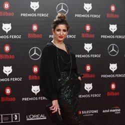Lucía Jiménez en los Premios Feroz 2019