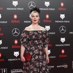 Debi Mazar en los Premios Feroz 2019
