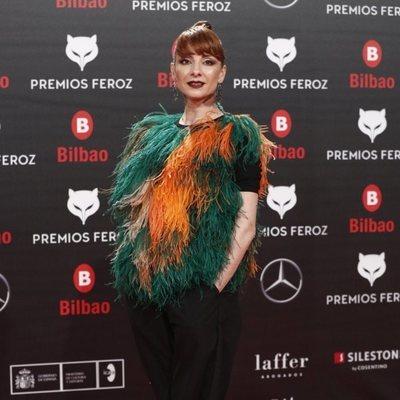 Najwa Nimri en los Premios Feroz 2019