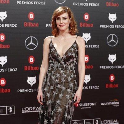Natalia de Molina en los Premios Feroz 2019