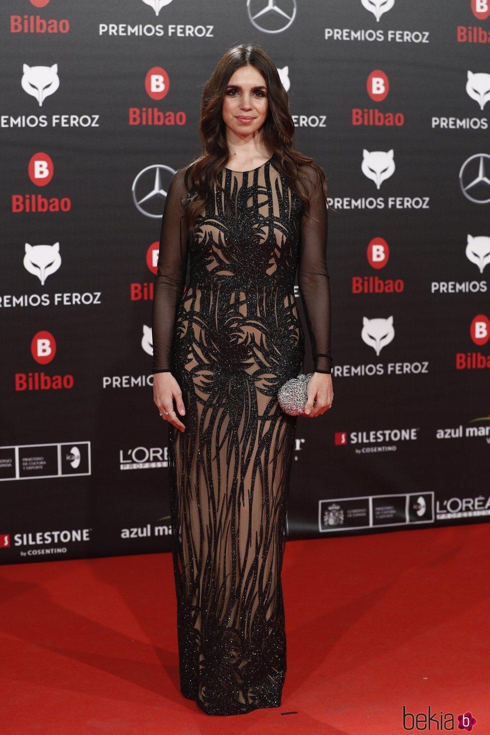 Elena Furiase en los Premios Feroz 2019