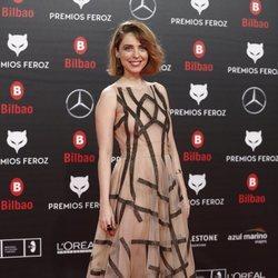 Leticia Dolera en los Premios Feroz 2019