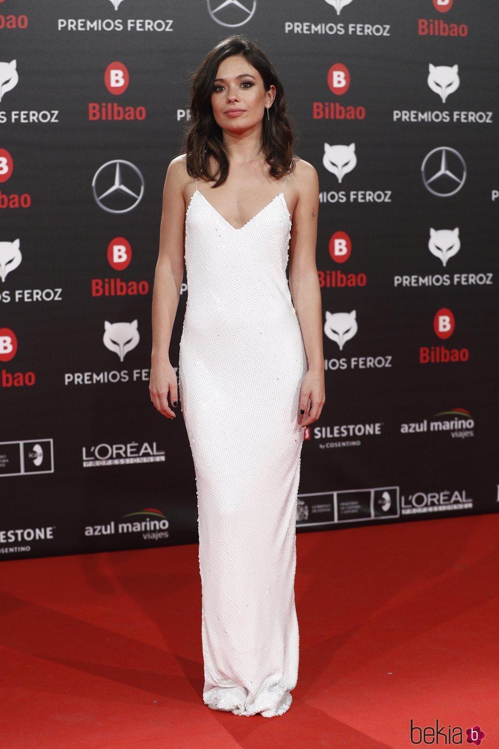 Anna Castillo en los Premios Feroz 2019