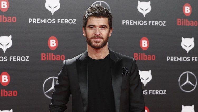 Alfonso Bassave en los Premios Feroz 2019