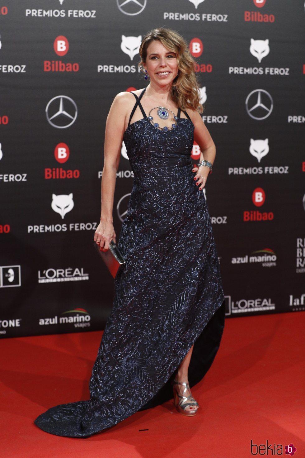 Athenea Mata en los Premios Feroz 2019