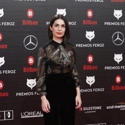 Celia Rico en los Premios Feroz 2019