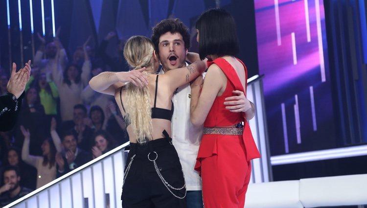 Miki al enterarse que es el representante de España en Eurovisión 2019