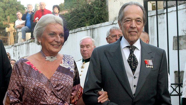 Enrique de Orleans y su segunda esposa, Micaela Cousiño Quiñones de León