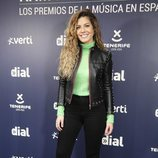 Miriam Rodríguez en la rueda de prensa de los Premios Cadena Dial 2019