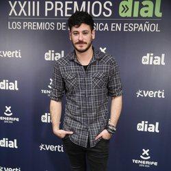 Cepeda en la rueda de prensa de los Premios Cadena Dial 2019