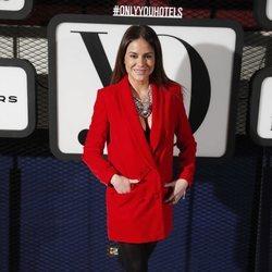 Mónica Hoyos en la fiesta de la revista Yo Dona