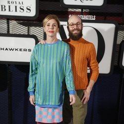 Ágatha Ruiz de la Prada y su hijo Tristán en la fiesta de la revista Yo Dona