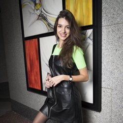 Ana Guerra posando en una sesión promocional de 'Reflexión'