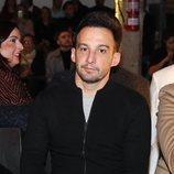 Alejandro Amenábar en el desfile de Eduardo Navarrete en la MBFW Madrid 2019