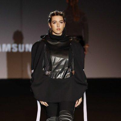 Alba Díaz desfilando en El Ego de Madrid Fashion Week para Laura Herrero