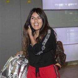 Chabelita Pantoja volviendo de su escapada a Estambul