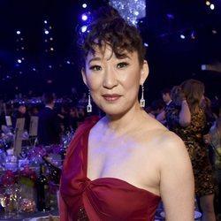 Sandra Oh durante la gala de los SAG 2019
