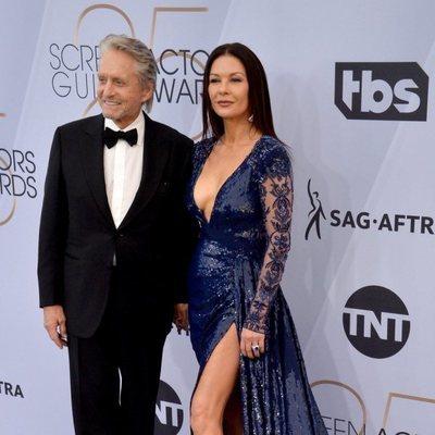 Michael Douglas y Catherine Zeta-Jones en los SAG 2019