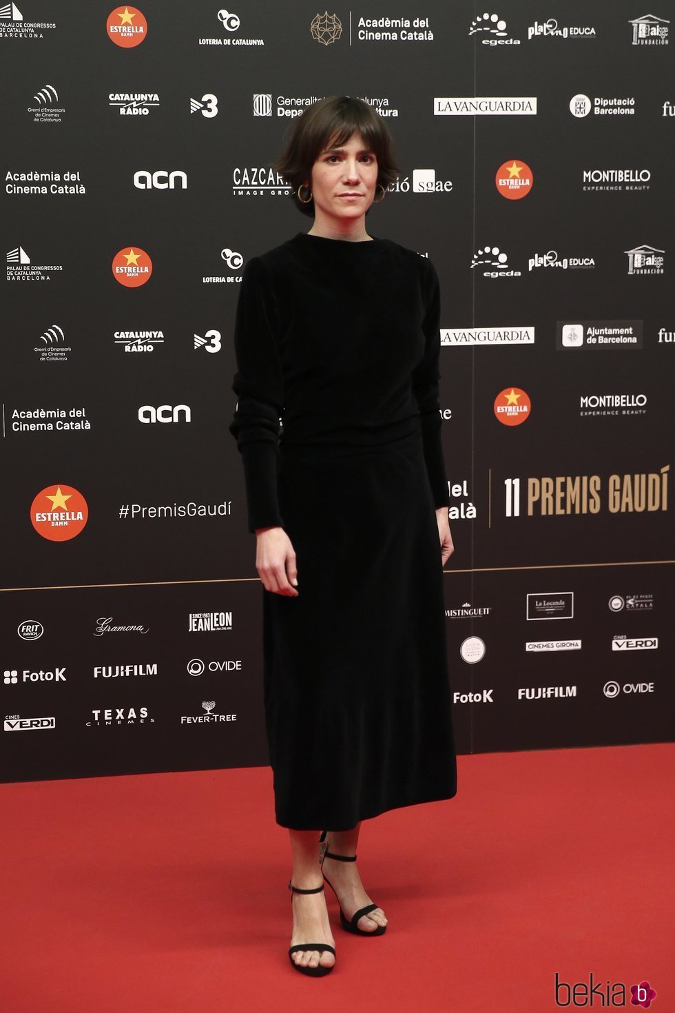 Bruna Cusi Echaniz en los Premios Gaudí 2019