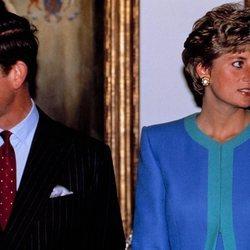 El Príncipe Carlos y Lady Di, distanciados