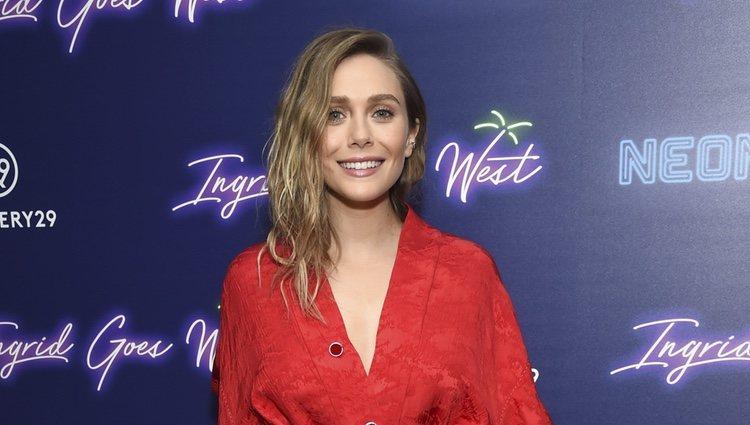 Elizabeth Olsen en la premiere de 'Ingrid Goes West'