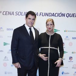 Luis Alfonso de Borbón y su mujer Margarita Vargas expectantes ante la llegada de su cuarto hijo