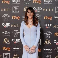 Antonia San Juan en la alfombra roja de los Premios Goya 2019