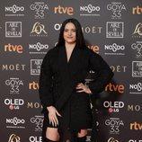 Rosalía en la alfombra roja de los Premios Goya 2019