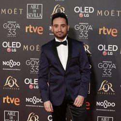 Juan Antonio Bayona en la alfombra roja de los Premios Goya 2019