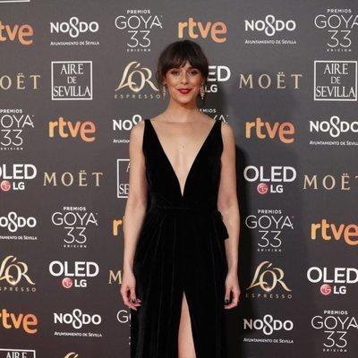 Belén Cuesta en la alfombra roja de los Premios Goya 2019