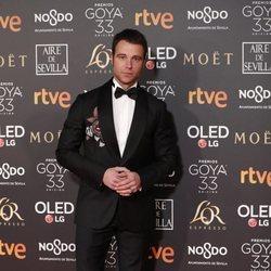 Carles Francino en la alfombra roja de los Premios Goya 2019