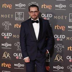 Màxim Huerta en la alfombra roja de los Premios Goya 2019