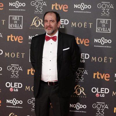 Karra Elejalde en la alfombra roja de los Premios Goya 2019