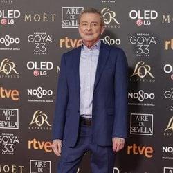 Juan Diego en la alfombra roja de los Premios Goya 2019