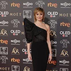 Nathalie Poza en la alfombra roja de los Premios Goya 2019
