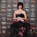 Paz Vega en la alfombra roja de los Premios Goya 2019