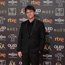 Isaki Lacuesta en la alfombra roja de los Premios Goya 2019