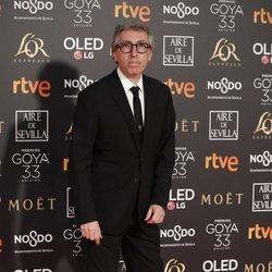 David Trueba en la alfombra roja de los Premios Goya 2019