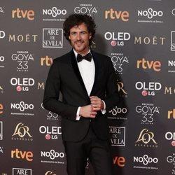 Daniel Grao en la alfombra roja de los Premios Goya 2019