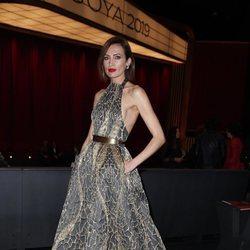 Nieves Álvarez en la gala de los Premios Goya 2019