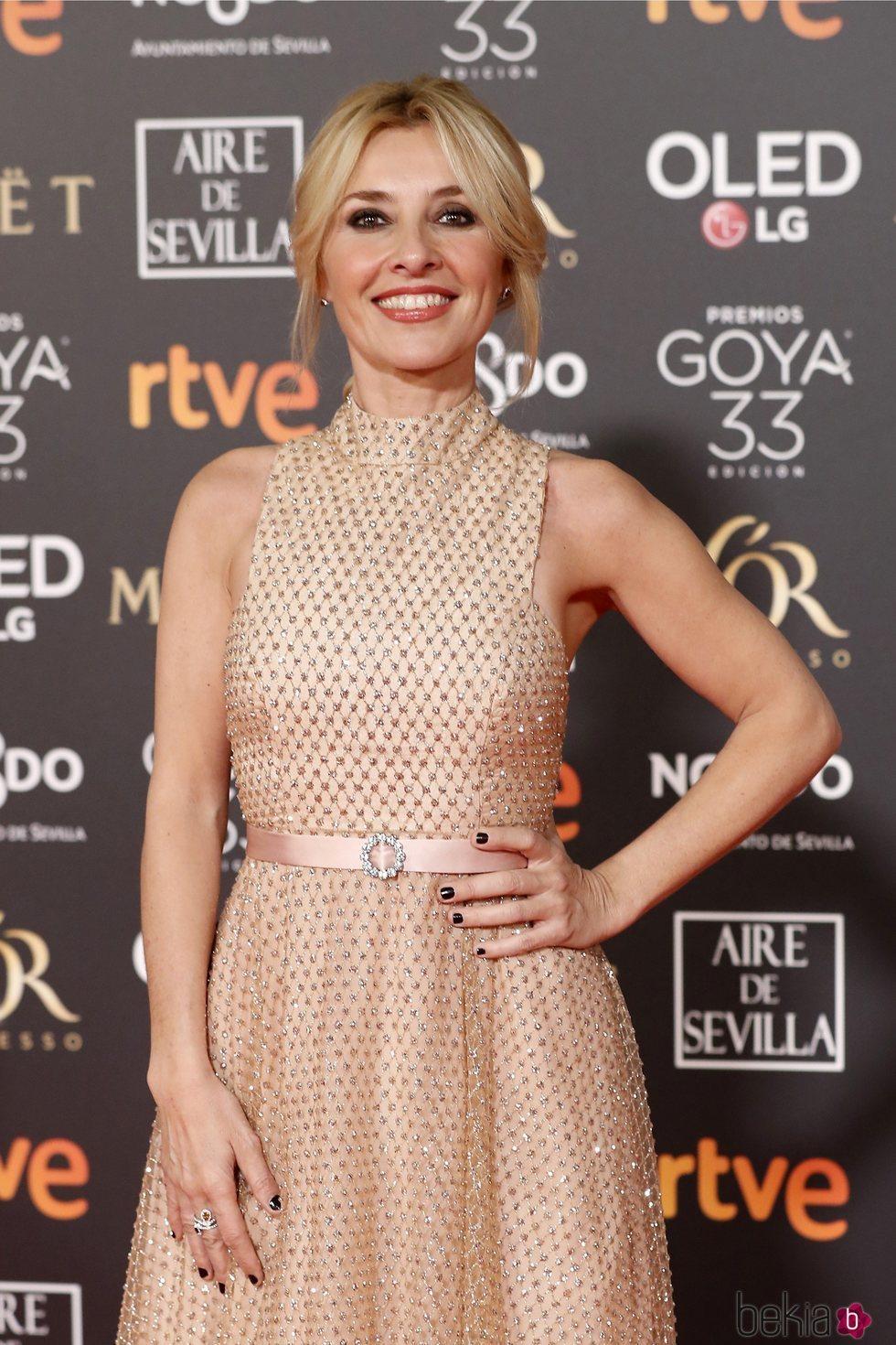 Cayetana Guillén Cuervo en la alfombra roja de los Premios Goya 2019