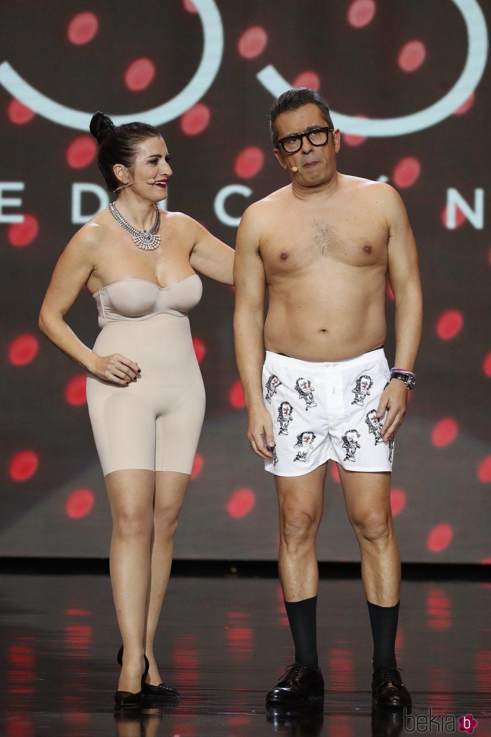 Andreu Buenafuente y Silvia Abril sin ropa en los Premios Goya 2019