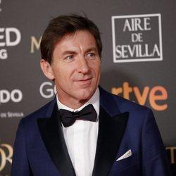 Antonio de la Torre en la alfombra roja de los Premios Goya 2019
