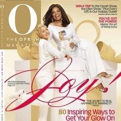 Oprah Winfrey y Ellen DeGeneres portada de The Oprah Magazine