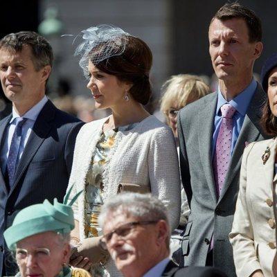 Federico y Mary de Dinamarca con Joaquín y Marie de Dinamarca