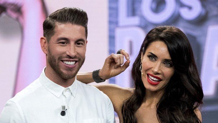 Sergio Ramos y Pilar Rubio hablando de su boda en 'El hormiguero'
