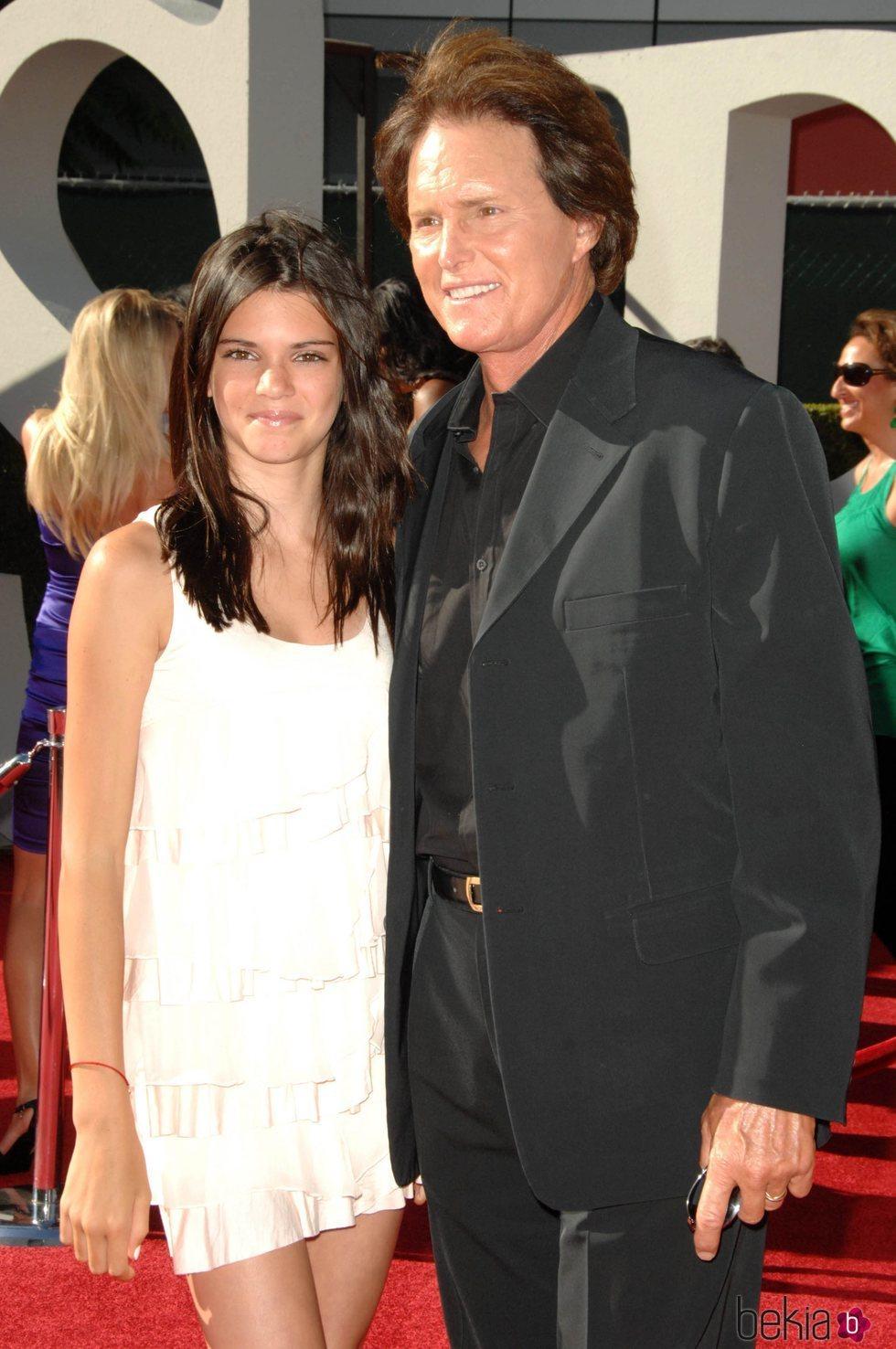 Kendall Jenner y Bruce Jenner en los ESPY Awards